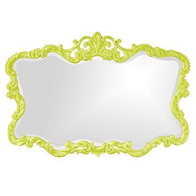 Save 90%=- Howard Elliott Collection 21183MG Talida Mirror, Green
