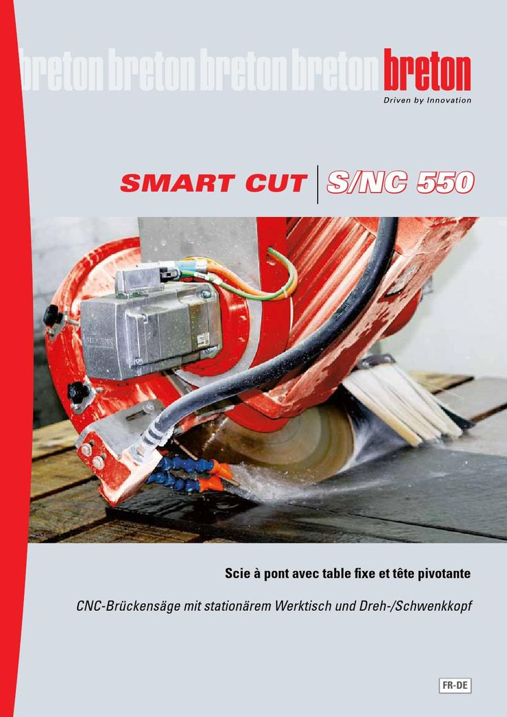 Breton Smart-Cut S/NC 550 Francais-Deutsch