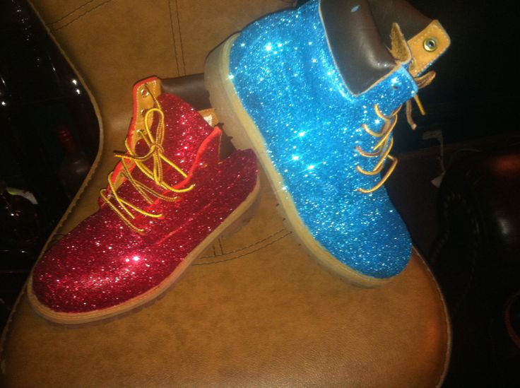 Cute Plain Glitter Timberland Boots Daisie S Boutique