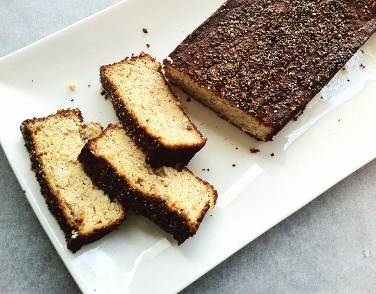 Super gezonde no Sugar banaanbrood met amandelmeel! Makkelijk en lekker!   Healthy no Sugar bananabread, super easy and soo delicious! #nosugar