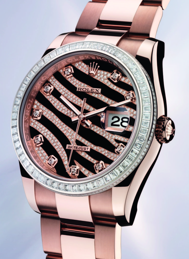 Rose Gold Pink Rolex <3