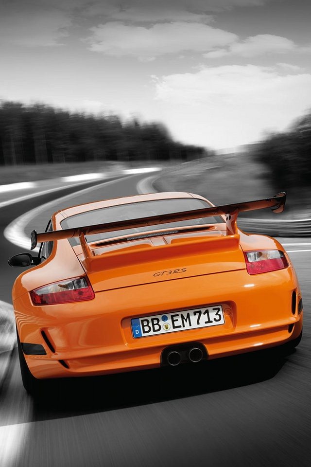Orange Porsche 911   High Quality Htc One Wallpapers And Abstract  Backgrounds Designed By The Best And Creative Artists In The World.