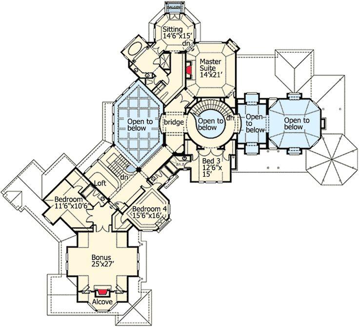 414 Best House Plans Images On Pinterest Floor Plans