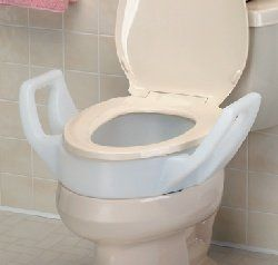 Raised Toilet Seat Attached Pictures To Pin On Pinterest