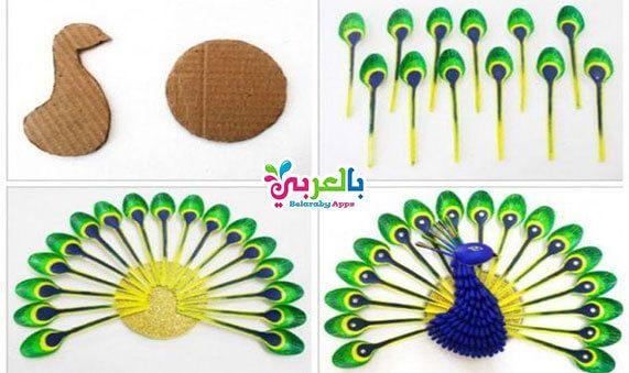 بالصور اعمال فنية من الملاعق البلاستيك طريقة عمل ديكور مضيء من الملاعق البلاستيكية طرق لإعادة تدو Plastic Spoon Art Plastic Spoon Crafts Plastic Spoons