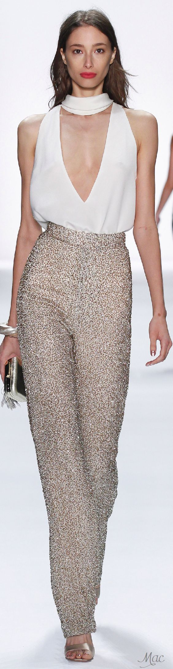 Spring 2016 Ready-to-Wear Badgley Mischka