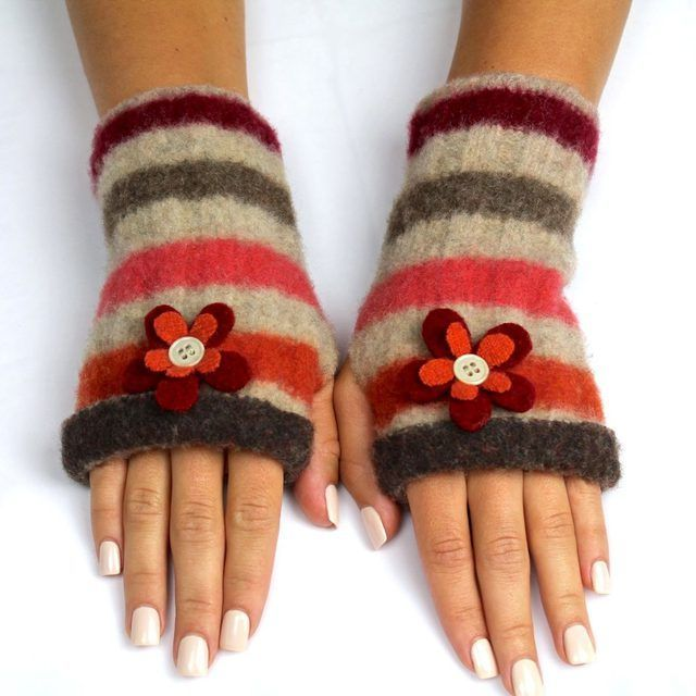 What better way to upcycle a damaged, worn or otherwise useless wool sweater than by creating something new and functional? Handmade gloves achieve this, and provide a thrifty way to keep hands warm and fingers available to text and type. These environmentally friendly fingerless gloves are stylish and flattering, whether they're worn during...