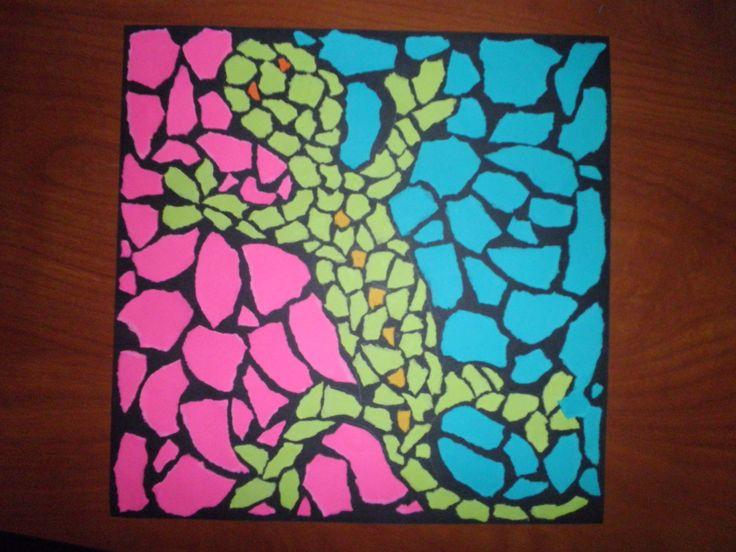 Art Lesson Plans | Animal Mosaic Lesson Plan - Elementary Art Educational Resources