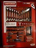Craftsman 56 Piece Universal Tool Set Wrench and Sockets Drivers