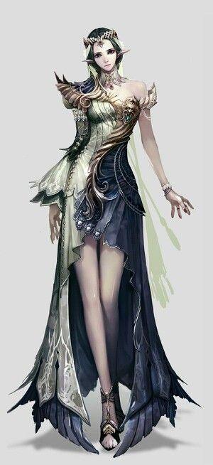 Fantasy Elven Woman
