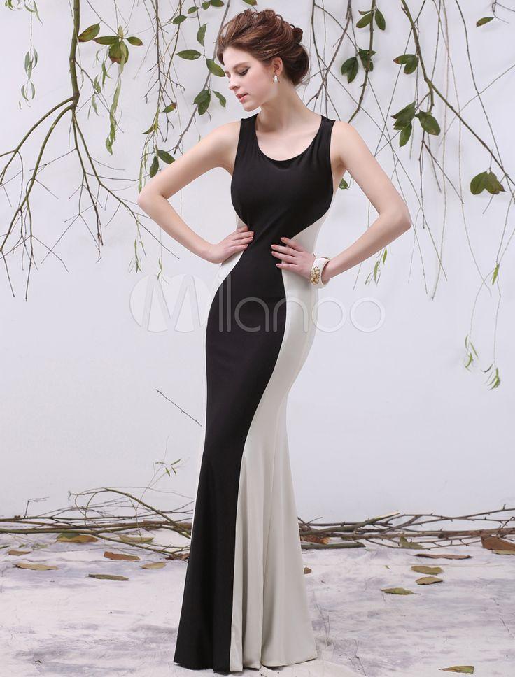 9794 encolure dgage dcouper sirne sexy tage longueur robe de soire - Milanoo Robe De Soiree Pour Mariage