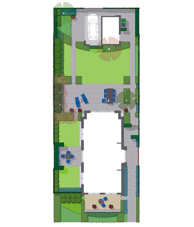 25 beste idee n over onderhoudsvriendelijke tuin op pinterest onderhoudsvriendelijke - Eigentijds tuinmodel ...