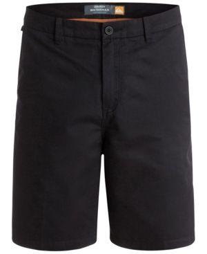 Quiksilver Waterman Men's Maldive Chino Shorts - Black 36