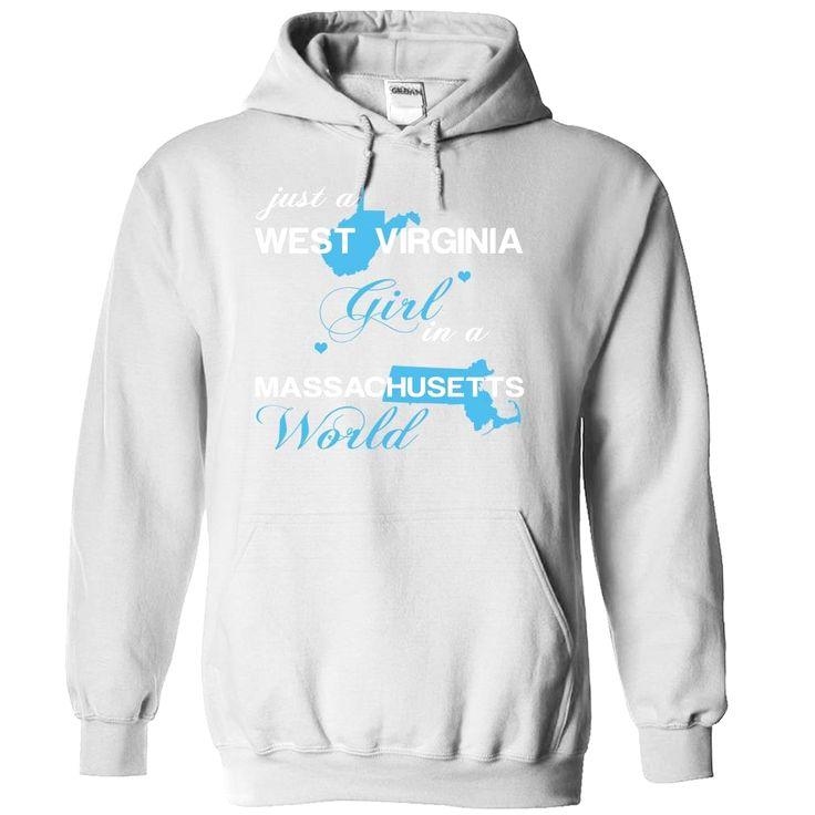 (WVJustXanh001) Just A West Virginia Girl In A Massachusetts World, Order HERE ==> https://www.sunfrog.com/Valentines/-28WVJustXanh001-29-Just-A-West-Virginia-Girl-In-A-Massachusetts-World-White-Hoodie.html?id=47756 #christmasgifts #xmasgifts #westvirginia