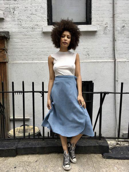 Wray Wrap Skirt