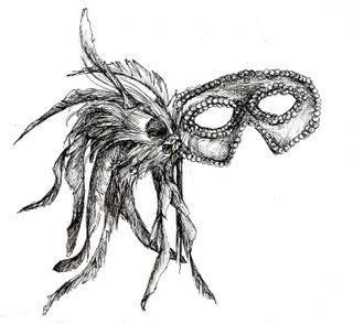 Masquerade Tattoo...we all wear masks... everyday