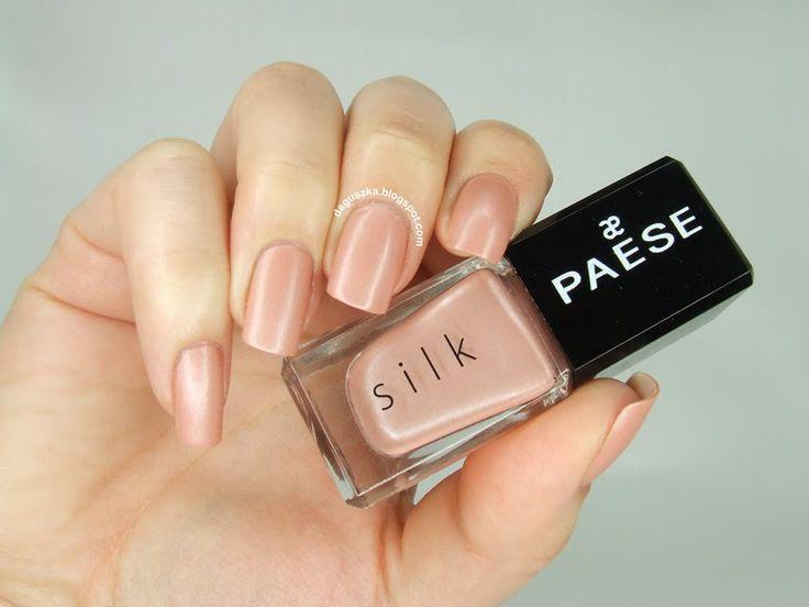 Lakiery satynowe sprawdzą się w stylizacjach do biura #nailpolish #nails #nailart