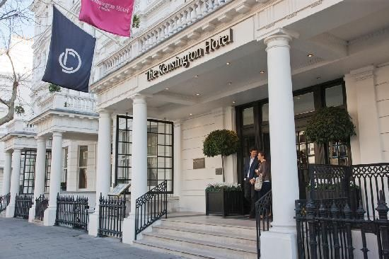 The Kensington Hotel $239 per night. Located on the West End right beside a tube station