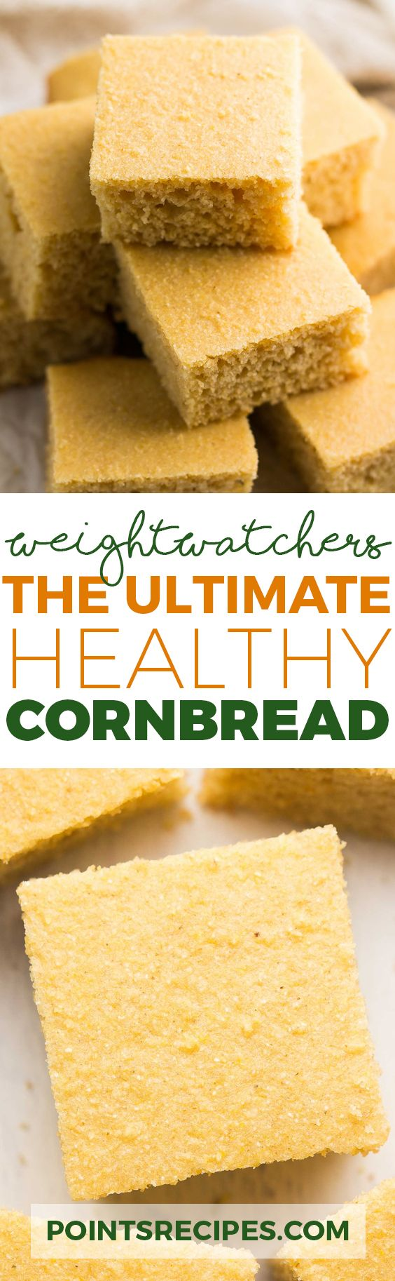 The Ultimate Healthy Cornbread (Weight Watchers SmartPoints)