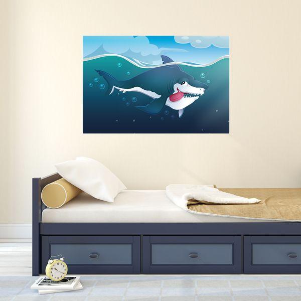 Poster géant Thyen le requin