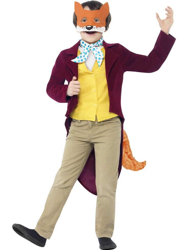 Child Roald Dahl Fantastic Mr Fox Costume