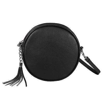 Italy Women's Leather Bag round Shoulder Bag Crossbody Shoulder Bag Minibag: £39.68End Date: 21-Nov 02:56Buy It Now… #tasche #backpack #bag