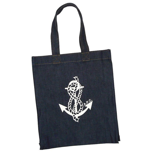 A.P.C. ANCHOR SHOPPING BAG // APC