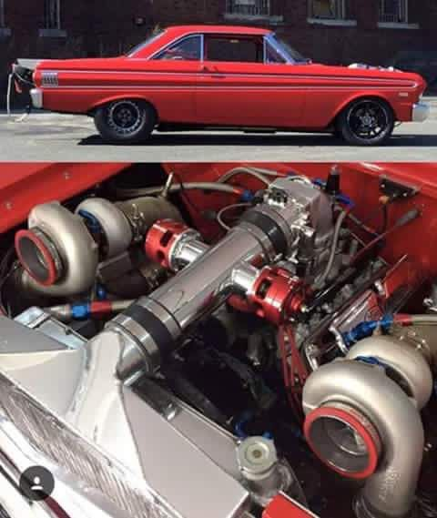 Precision Twin Turbo: Gary Houghtaling 1964 Ford Falcon Hardtop 440 Ci With Twin