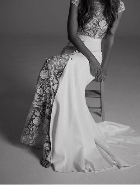 THE MEWS BRIDAL - Nottinghill. Wedding Dress Designer 1 - Collection Rime Arodaky 2017 // Lace Wedding Dress
