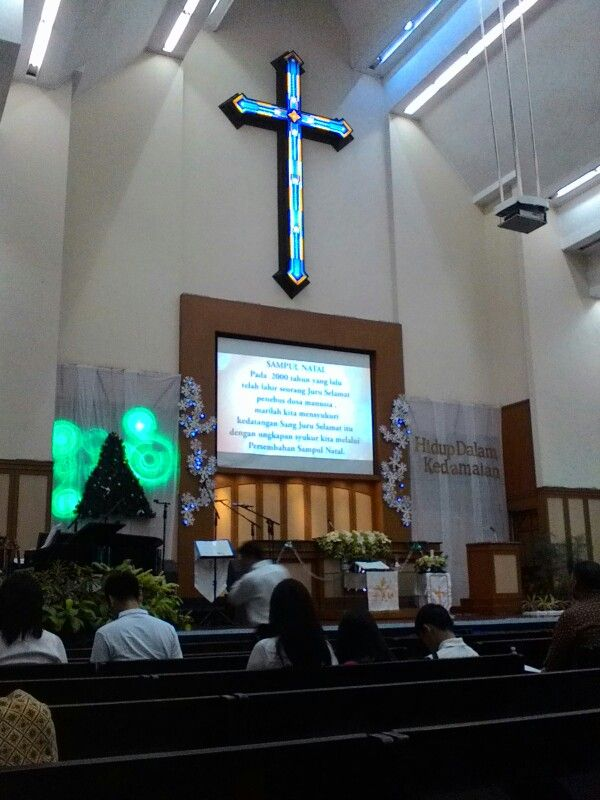 Altar ini dulu jadi saksi janji nikah qta