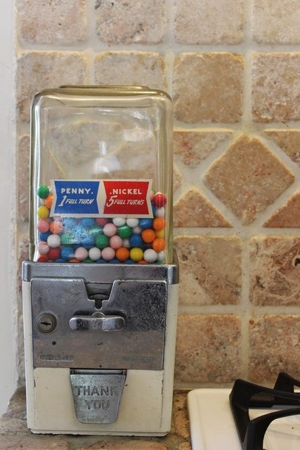 Vintage gumball machine... Would love one! Doesn't have to be this one.