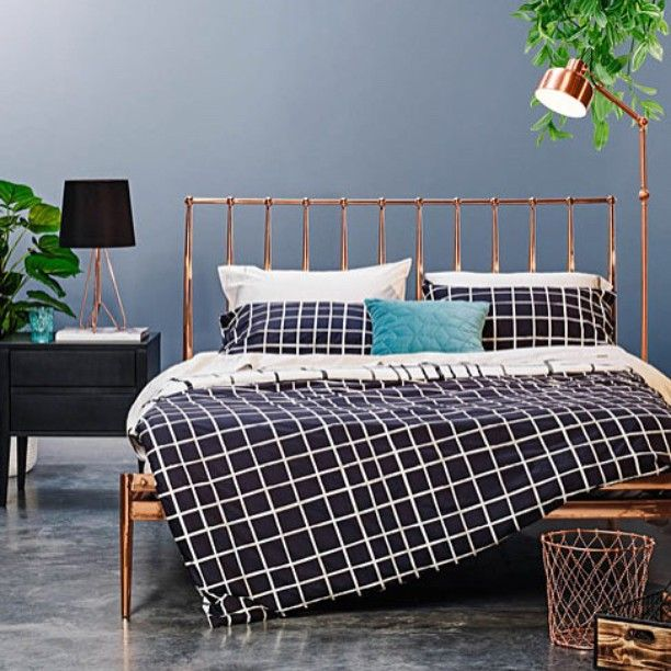 coppa bed frame as seen in home chc marieclaireau instylemag homebeautiful