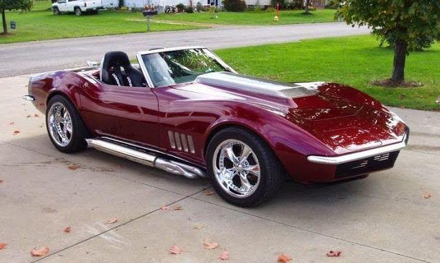 1968 Corvette Roadster | Die heißesten Muskelmaschinen: Oldtimer, Muskelmobile und …   – C3  1968 – 1982