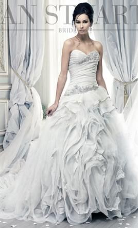 Ian Stuart Pracatan: buy this dress for a fraction of the salon price on PreOwnedWeddingDresses.com