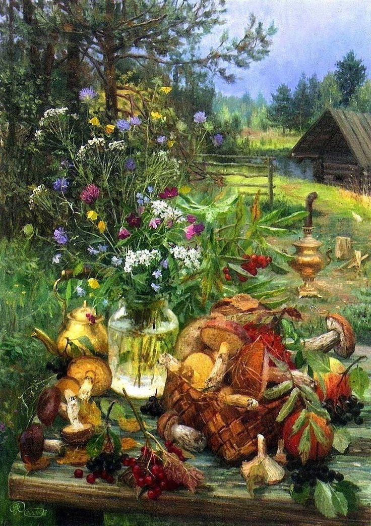 Очарование России в творчестве художника Владимира Жданова