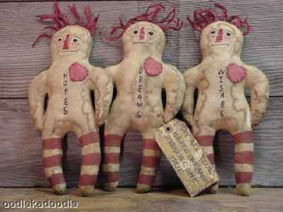 Free Extreme Primitive Doll Patterns
