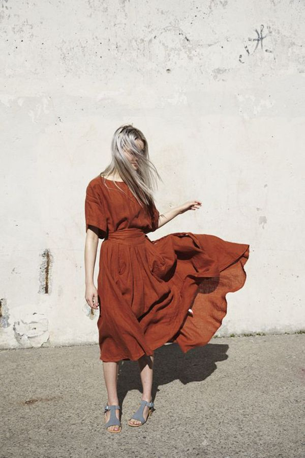 Potter's Clay Dress | Top 10 Pantone Colours for Fall 2016 | Visit Travelshopa