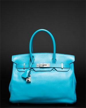 OMG Hermes Turquoise Swift Birkin 30cm PHW     $12,999.00