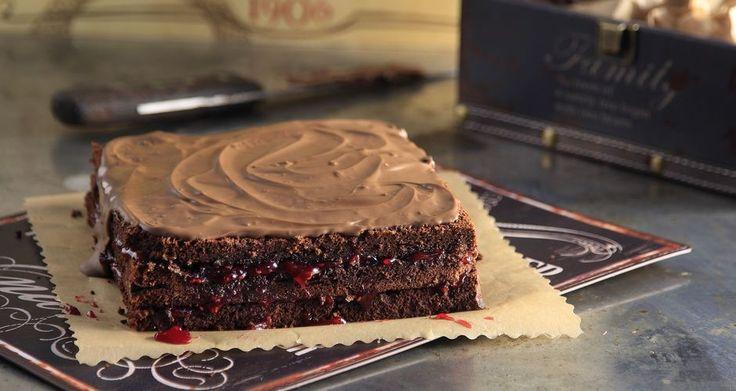 Κέικ σοκολάτας με αλεύρι αμυγδάλου