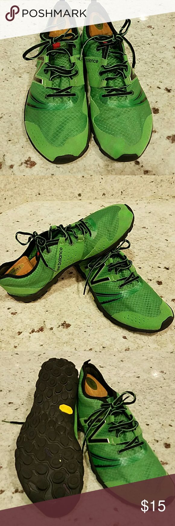 New Balance mens Minimus shoes Size 11 gently worn. Kelly Green. New Balance Shoes Athletic Shoes