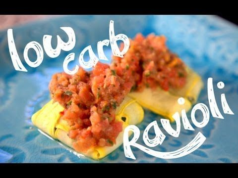 http://youtu.be/p8yCmJBIYdk Low Carb Ravioli, actually looks rather tasty!