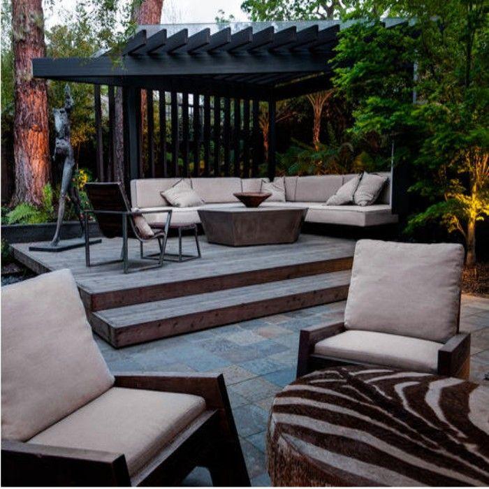 Do you have corner outdoor pergola benches