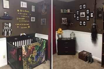 Este quarto de bebê com tema do Harry Potter é simplesmente encantador
