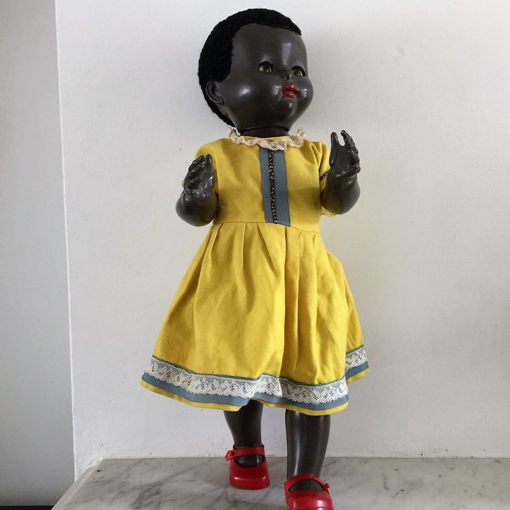 1950s Pedigree Walker Vintage Black Baby Doll