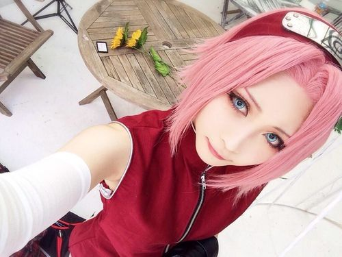 cosplay, naruto, and sakura image