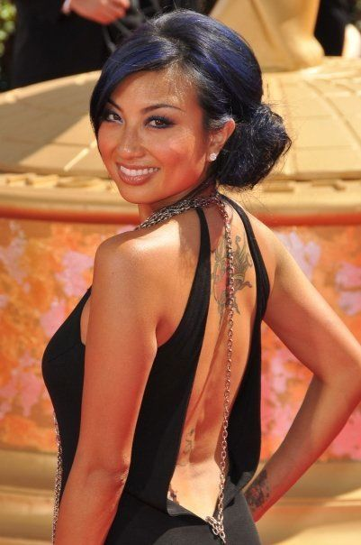 jeannie mai is always perfect   Blue HairJeannie Mai Hair