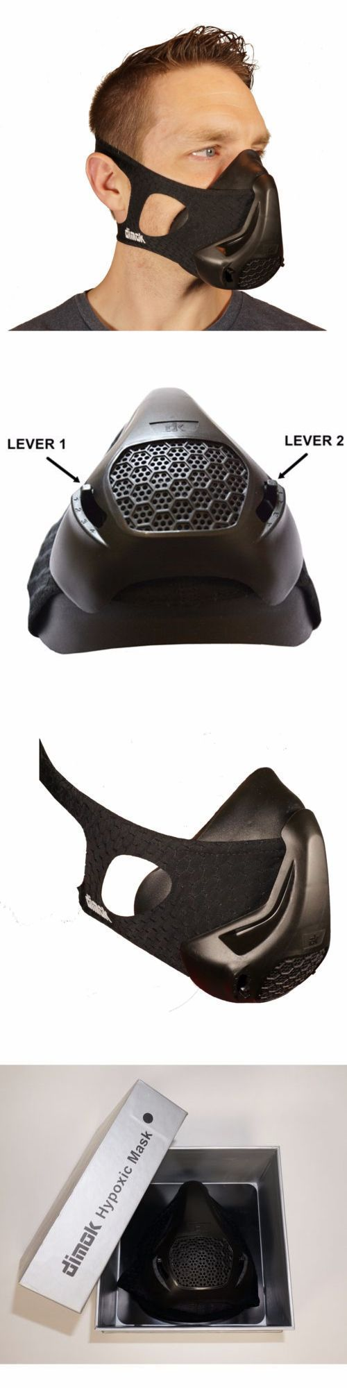 Elevation Training Masks 179787: Training Mask Exercise Equipment Mma Fitness Running High Altitude Workout New -> BUY IT NOW ONLY: $69.99 on eBay!