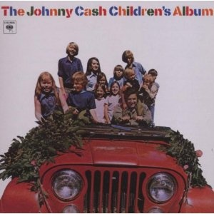 The Johnny Cash Children's Album. I found this in the clearance bin. It made my day.