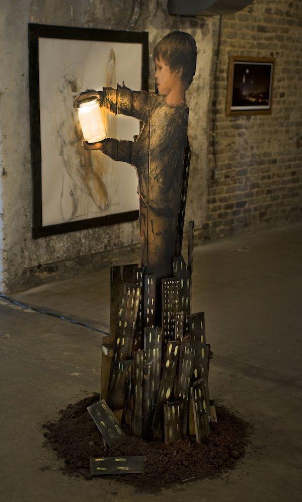 Kickstarter Campaign for More Street Art Around the World - My Modern Metropolis: Art F0R, Michael Aaron, Aaron Williams Cardboard, Art Forever, Kickstarter Campaign, Streetart