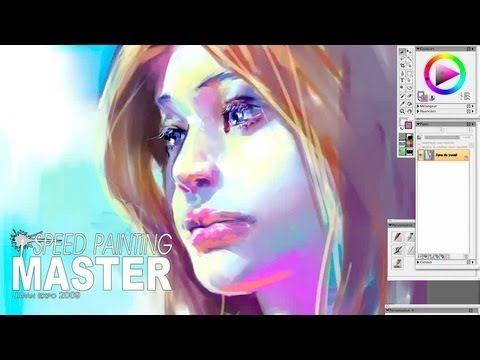 ▶ Speed Painter Master Japan expo 2009 日本暴露 - YouTube